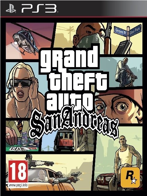 Grand Theft Auto: San Andreas (2015) [PS3] [EUR] 4.76 [Cobra ODE / E3 ODE PRO ISO]