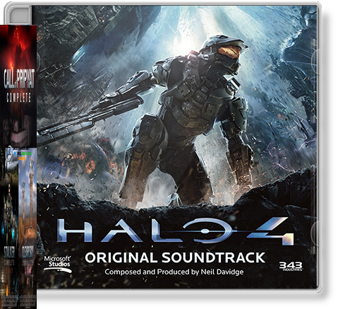 Halo 4 - Original soundtrack(MP3, 320 kbps)