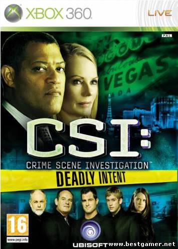 CSI: Deadly Intent (2009) [Region Free][RUS][P]