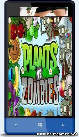 [WP7-7.5] Plants vs Zombies v.1.4 [Аркады, WVGA, ENG]