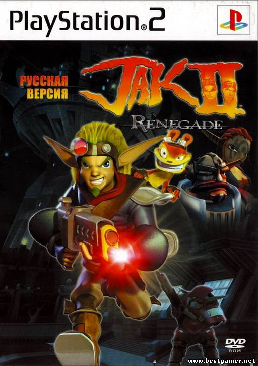 [PS2] Jak II(2): Renegade [RUS/Multi7|PAL]