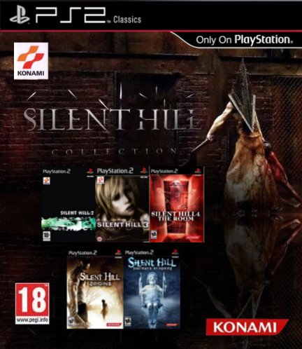 Silent Hill Complete Collection (PS2 Classic)(ENG)
