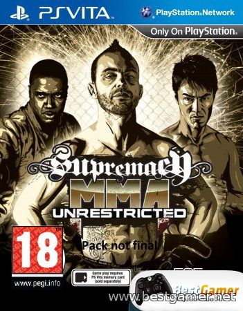 (PS Vita)Supremacy MMA: Unrestricted