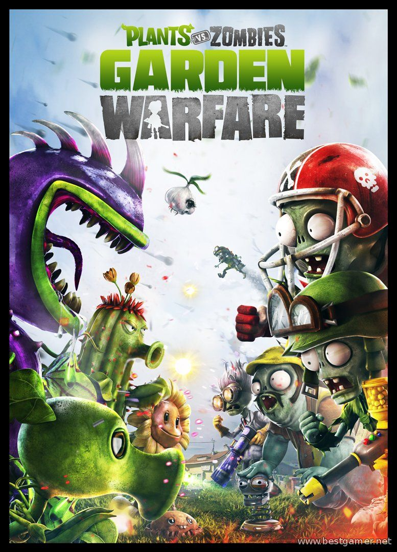 Plants vs Zombies - Game of the year edition (2009) [RUS] [Wineskin]