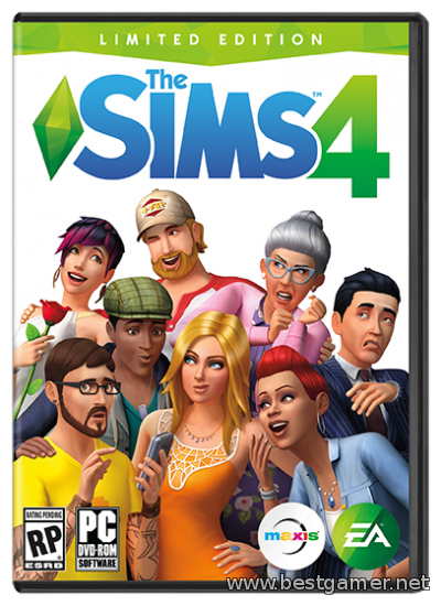 The SIMS 4 Deluxe Edition (Electronic Arts) (ENG) [L|Pre-Load]