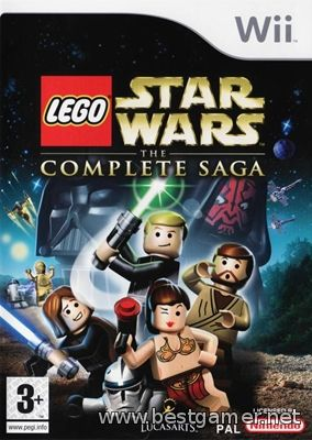LEGO Star Wars: The Complete Saga Wii