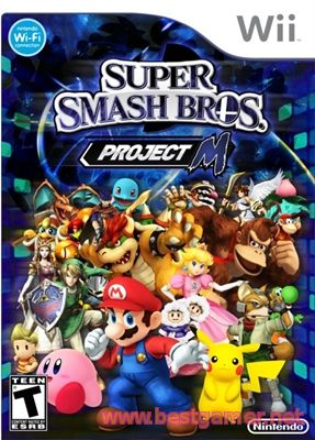 Super Smash Bros. Project M 3.5 [Wii] [NTSC] [ENG] (2014)