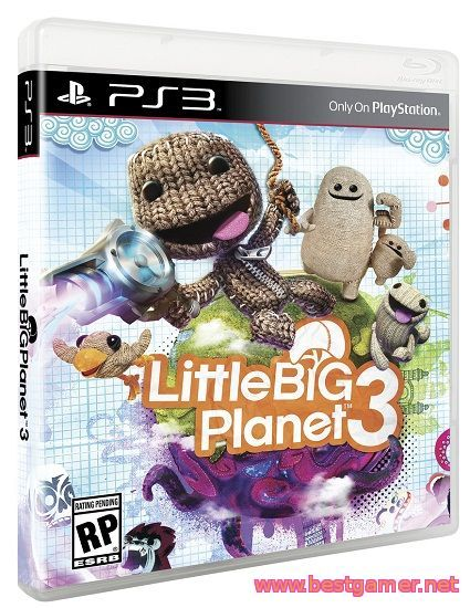 Little Big Planet 3 | RePack + 17 DLC [RU / EN]от BESTiaryofconsolGAMERs