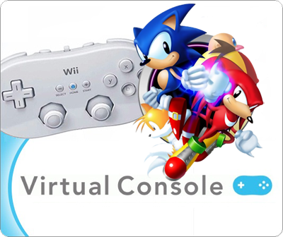 Virtual Console Sonic Pack PAL, ENG