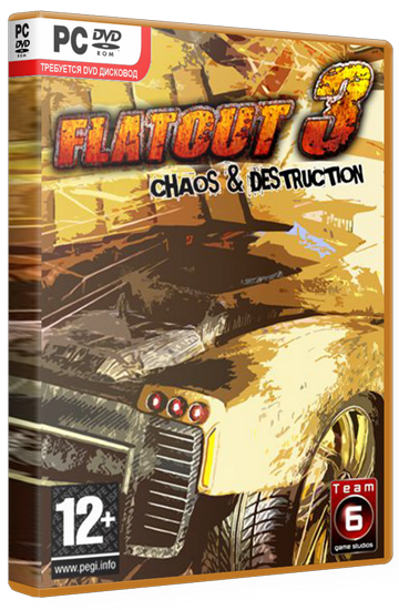 Flatout 3: Chaos & Destruction (Strategy First) (ENG) [Lossless Repack] от R.G. Origami(обновлен)