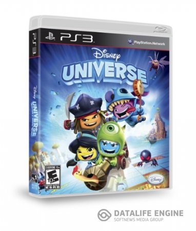 Disney Universe / Disney: Мир Героев (2011) [PS3] [EUR] 3.70 [Cobra ODE / E3 ODE PRO ISO] [License] [Ru]