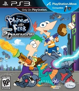 Phineas and Ferb: Across the 2nd Dimension (2011) [PS3] [USA] 3.40 [Cobra ODE / E3 ODE PRO ISO]