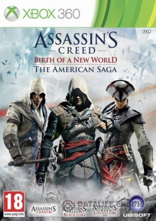 [JTAG/FULL] Assassin's Creed: Birth of a New World – The American Saga [JtagRip/Russound] [Repack] через torrent