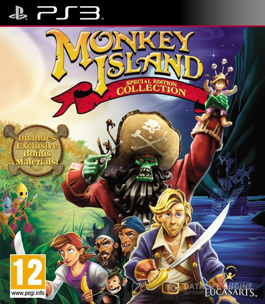 Monkey Island: Special Edition Collection (2011)[Cobra ODE / E3 ODE PRO ISO] [Unofficial] [En]