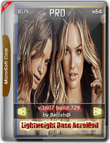 Windows 10 Pro 729 Lightweight Base AeroMod / x64 Srez / Bellish@ / ~rus~