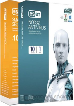 ESET NOD32 Antivirus / Smart Security 10.0.390.0 / RePack by KpoJIuK