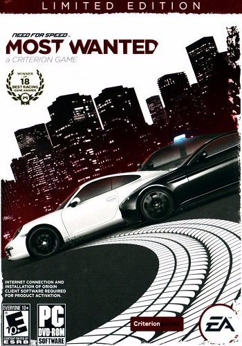 Need for Speed Most Wanted: Limited.Edition [v.1.5.0.0] (2012) PC | Лицензия