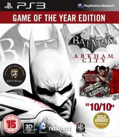 Скачать торрент Batman: Arkham City GOTY PS3 Cobra ODE