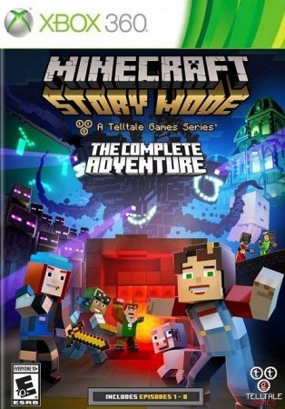 Скачать торрент Minecraft: Story Mode - The Complete Adventure Xbox360
