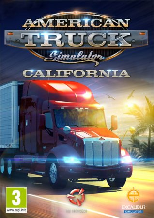 American Truck Simulator [v 1.34.0.5s + 19 DLC] (2016) PC | Steam-Rip от =nemos=