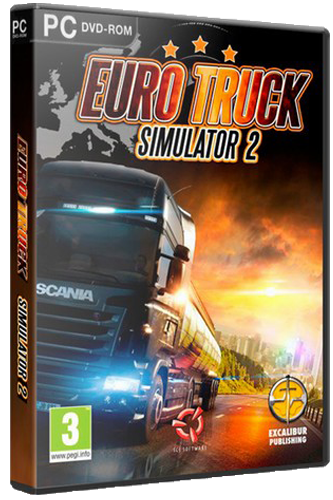 Euro Truck Simulator 2 [v 1.37.2.0s + DLC] (2013) PC | Steam-Rip от =nemos=