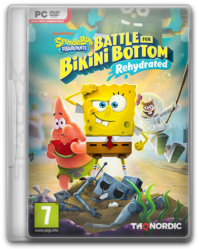 Губка Боб / SpongeBob SquarePants: Battle for Bikini Bottom - Rehydrated (2020) PC | RePack от SpaceX