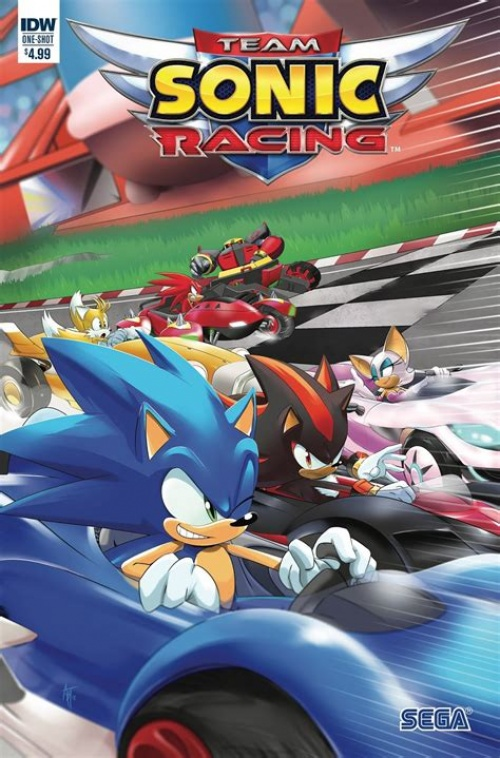 Team Sonic Racing (2019 Русский) SpaceX