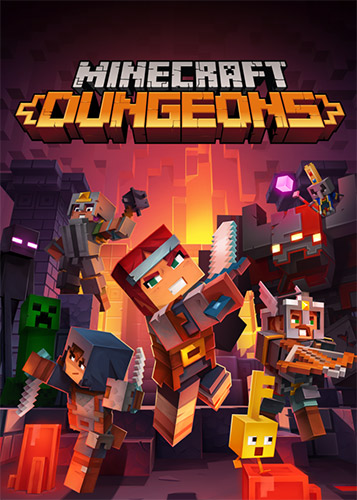 Minecraft Dungeons [ v 1.3.2.0 + DLC + Multiplayer] (2020) PC | RePack от FitGirl