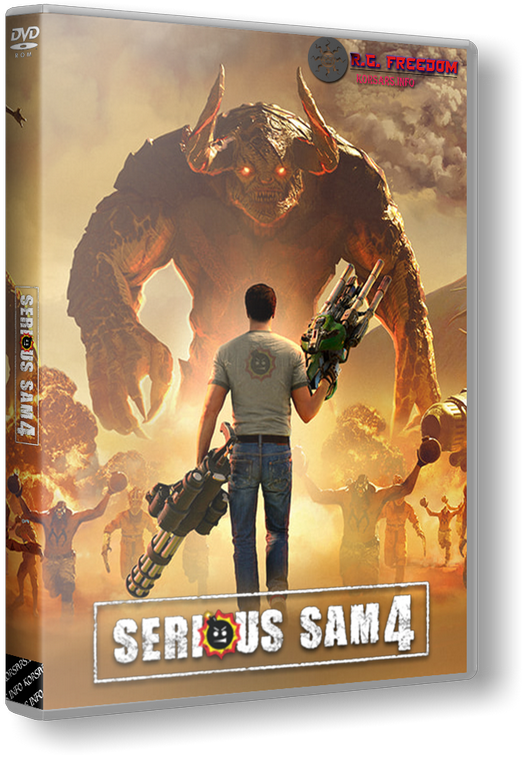 Serious Sam 4: Deluxe Edition [v 1.03 + DLC] (2020) PC | RePack от R.G. Freedom