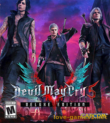 Devil May Cry 5: Deluxe Edition [v 1.0 build 5962864 + DLCs] (2019) PC | RePack от FitGirl