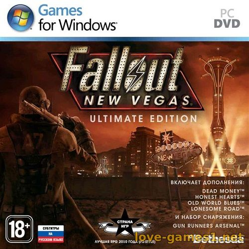 Fallout: New Vegas - Ultimate Edition [v 1.4.0.525 + DLCs] (2010) PC | Repack от xatab