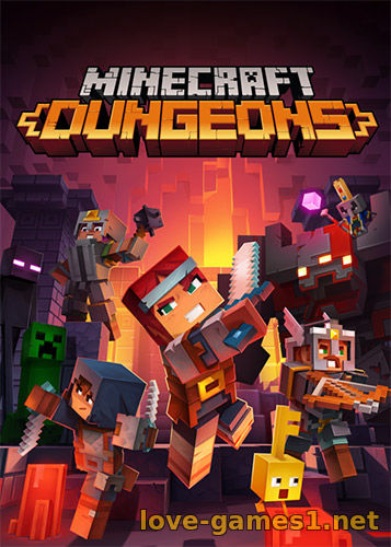 Minecraft Dungeons [v 1.7.3.0 5135400 + DLCs + Multiplayer] (2020) PC | RePack от FitGirl