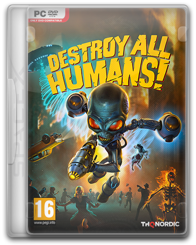 Destroy All Humans! [v 1.0.2550 + DLC] (2020) PC | RePack от SpaceX